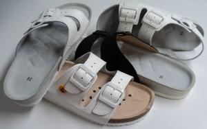 Celková komletace lehké pracovní, antistatické a domácí obuvi