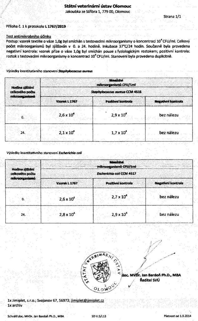 Protokol o zkoušce